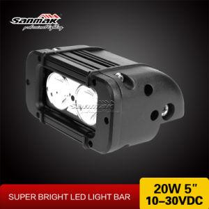 LED 10W de la barra de luces automáticas para offroad