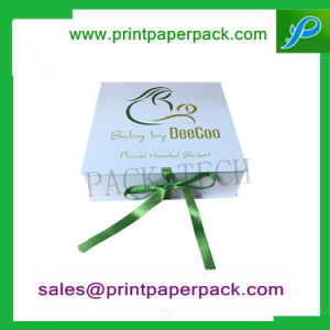 Cinta de embalaje personalizadas bebé Manta Caja de regalo de caja de perfumes cosméticos de joyero Caja de papel de embalaje de cartón Caja de tarta