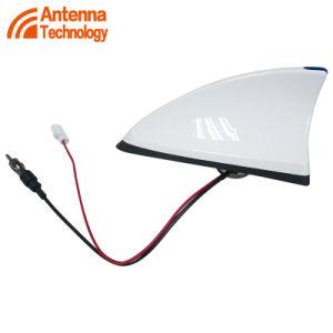 Rádio Antena barbatana de tubarão no exterior do teto com luz de LED