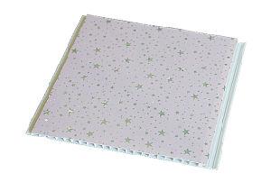 En PVC de 10 pouces pour l'intérieur du panneau de plafond décoratif