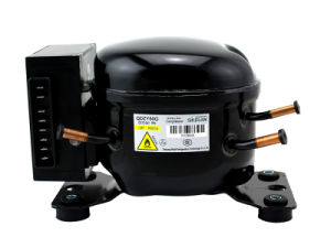 12V 24V CC de voiture Réfrigération Partie congélateur Réfrigérateur réfrigérateur R600un compresseur hermétique pour véhicule Qdzy du refroidisseur d50g 108W