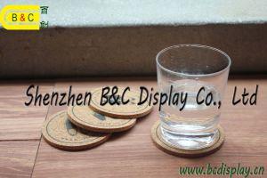 De Onderlegger voor glazen van het document, Absorberende Onderlegger voor glazen, de Mat van de Kop (b&c-G004)