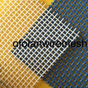 ペット青く白く総合的なポリエステル正方形のドライヤーの網目スクリーンベルト