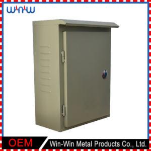 Projetar a caixa de distribuição elétrica ao ar livre do metal do aço inoxidável