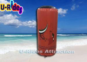 Boya de cilindro inflable personalizado para el Parque Acuático