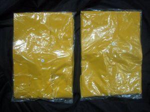 PVC/Polyester dell'adulto impermeabilizzano il cappotto di pioggia dell'indumenti impermeabili del Workwear