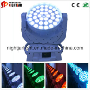 Nj-L36A RGBW 4in1 36*10W LEDの移動ヘッド洗浄ライト