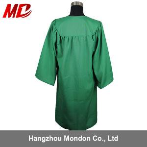 Großhandelsabitur-Schutzkappen-Kleid-Troddel-Kelly-Grün