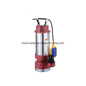 SPA en acier inoxydable série Les eaux usées submersible électrique de pompe à eau avec interrupteur à flotteur
