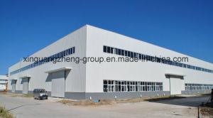 La estructura de acero de fácil construcción Taller de Construcción
