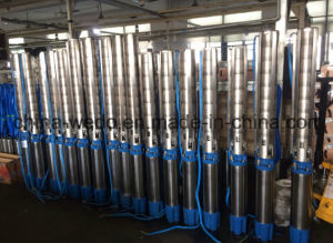 Serie sommergibile elettrica della pompa dell'acqua di pozzo profondo