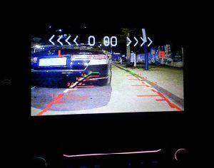 Ес Car номерного знака 3 в 1 Автомобильный парковочный датчик видео с камеры заднего вида HD