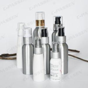 Bottiglia cosmetica di alluminio stampata abitudine con la pompa dell'erogatore (PPC-ACB-040)