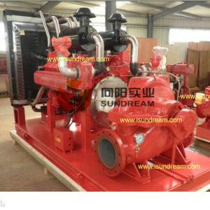 UL/FM muestran la lucha contra incendios accionadas por motor Diesel Bomba de agua centrífuga