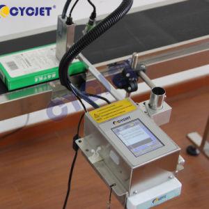 Printer van de Fles van de Datum van de Code van het Aantal van de Partij van Cycjet Alt200 de Automatische Ononderbroken Inkjet