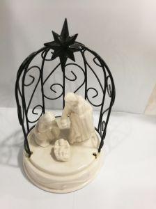 Ceramische Giften van het Standbeeld van de Familie van de Decoratie van Kerstmis de Heilige