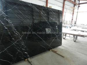 Pierre naturelle poli marbre noir pour mur et plancher u2013pierre