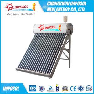 El mejor precio Unpressurized compacto calentador de agua solar 100L
