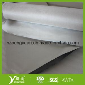 アルミホイルの薄板にされたガラス繊維の布
