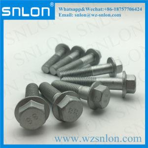 L'acier de zinc vis à embase hexagonale de haute qualité pour les Pièces de moto