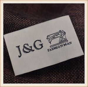 Borde tejido Damasco personalizada ropa de etiqueta baratos