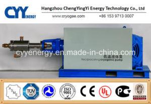 Cyyp 56 Servicio ininterrumpido gran caudal y de alta presión de oxígeno líquido de GNL de Argón Bomba de pistón de nitrógeno multiseriados