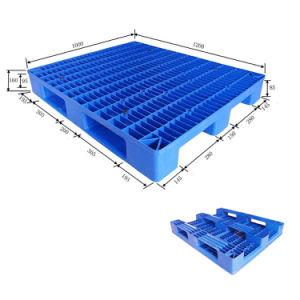 1200*1000 Single enfrentaram três calhas Anti-Static Pesado paletes de plástico
