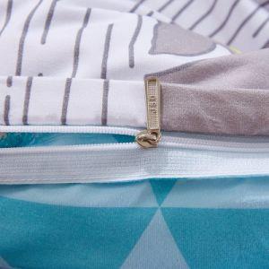 Preiswerter Preis beste verkaufengedruckte Microfiber Polyester-Bettwäsche