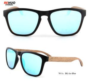 De Zonnebril van de manier voor Vrouw, Houten Zonnebril