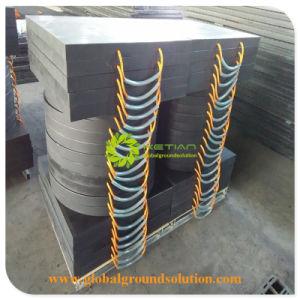 De het maagdelijke HDPE Stootkussen van de Kraanbalk van de Stabilisator van de Kraan/Mat van het Polyethyleen