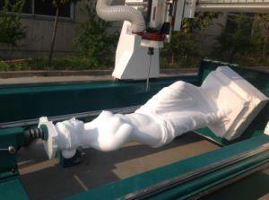 Grosse Mittellinien-Statue der Größen-4, die Maschine herstellt