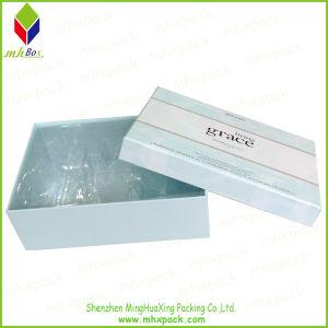 Het kosmetische Vakje van de Verpakking van de Gift van het Document van het Deksel en van de Basis