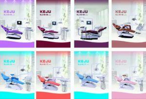 Neuer Entwurfs-ökonomischer zahnmedizinischer Stuhl mit Geschäfts-Lampe (Kj-917)