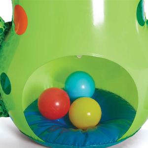 sacchetto di perforazione gonfiabile della rana del PVC o di TPU di disegno 3D con dell'acqua della sabbia o e la sfera del PE la base all'interno
