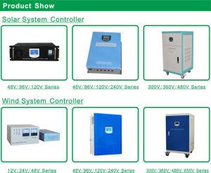 96V серии 30A/50A/80A/100A/150A/200A PV контроллера заряда