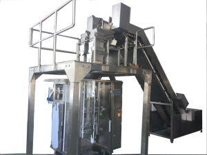 Automático de llenado de polvo de malteada de maquinaria de envasado al vacío de sellado