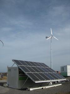 Los molinos de viento de recursos de energía verde