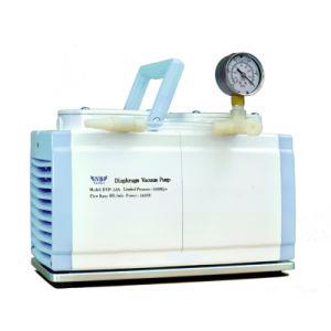 Laboratório profissional usando a bomba de vácuo de diafragma