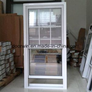 American solo salto térmico colgado de la ventana de aluminio, doble ventana de colgado, deslizando la ventana de guillotina