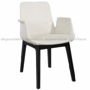 Furniture Restaurante Café poltrona de espuma de injeção de design em madeira Cadeira de jantar
