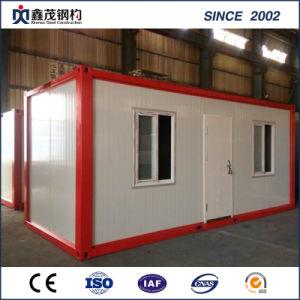 標準モジュラーフラットパックの労働者のホームのための生きている容器の家