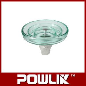Isolador de suspensão de vidro para a linha de alta tensão (LXP-100)