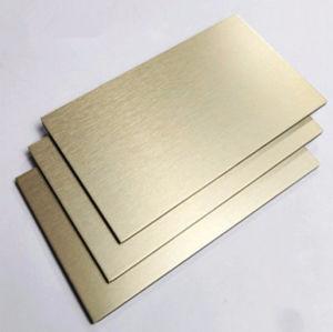 Aludong PVDF bedekte het Samengestelde Comité van het Aluminium van 4mm voor de Bekleding van de Muur met een laag
