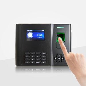 (Modelo GT200) Sistema de Apontamento de impressão digital biométrico com bateria de lítio incorporada, Cartão de RFID, WiFi ou função GPRS