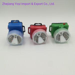安い価格のABS PPプラスチックLEDヘッドライトヘッド懐中電燈Hl558の