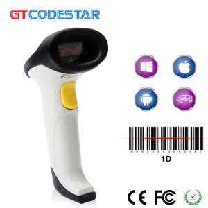 La Chine prix bon marché 1d'ordinateur de poche laser filaire Barcode Scanner pour le supermarché/Logitech/Retails