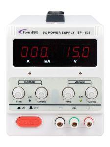Baixo custo de Canal Único laboratório de comutação de potência DC ampliador de alimentação 30V 3A Twintex Sp-3003