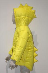 Garçon veste matelassée de dinosaures d'hiver