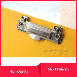 Levier de boîte de dialogue de fichier d'Arche en PVC avec 2 Clip à anneau liant pour la papeterie de bureau