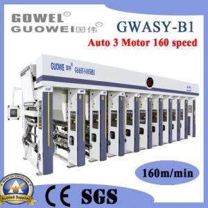 Gwasy-B1 8 Color Gravure Máquina de Impressão de Filme com 160m/min